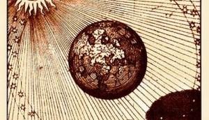 """""""Sol et eius umbra."""" Maier, Scrutinium chymicum (1687)"""