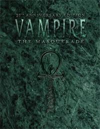 Compre a edição de 20 anos de Vampiro: A Máscara