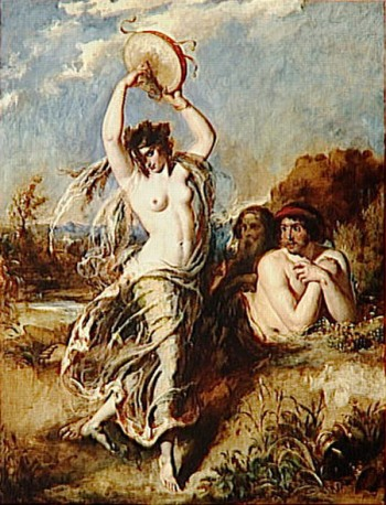 Etty_William_Bacchante_Playing_the_Tambourine